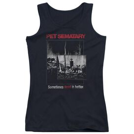 Pet Sematary Cat Poster Juniors Tank Top