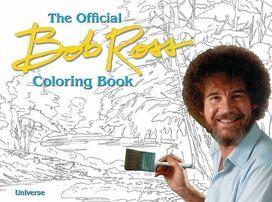 Official Bob Ross Coloring Book