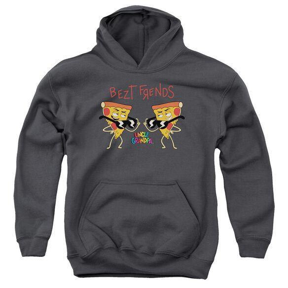 Uncle Grandpa Bezt Frends Youth Pull Over Hoodie