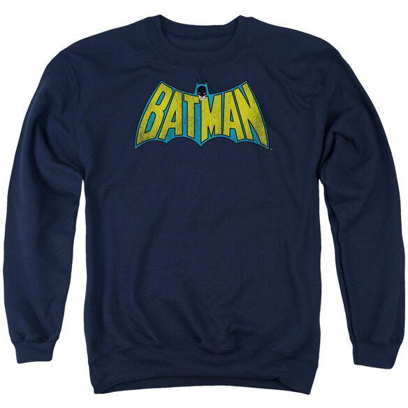 Dc Classic Batman Logo Adult Crewneck Sweatshirt