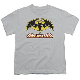 Batman Unlimited Logo Short Sleeve Youth T-Shirt