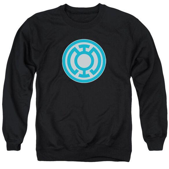Green Lantern Blue Symbol Adult Crewneck Sweatshirt