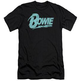 David Bowie Logo Hbo Short Sleeve Adult T-Shirt