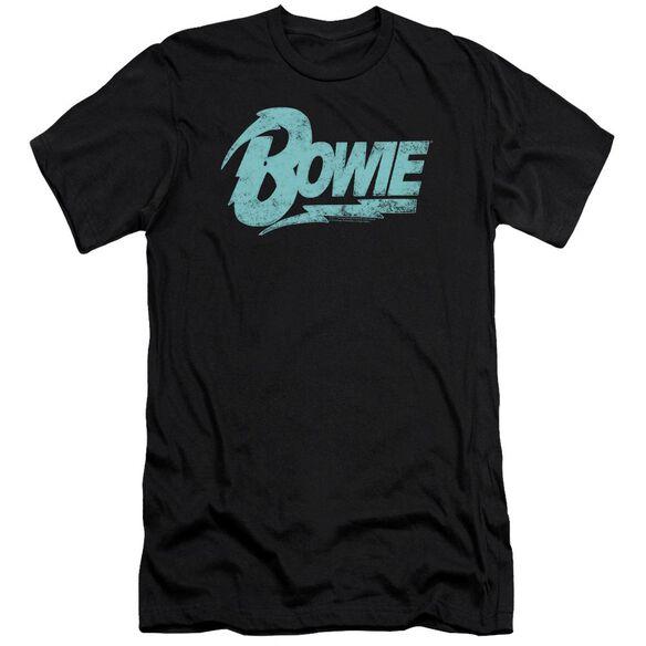 David Bowie Logo Short Sleeve Adult T-Shirt