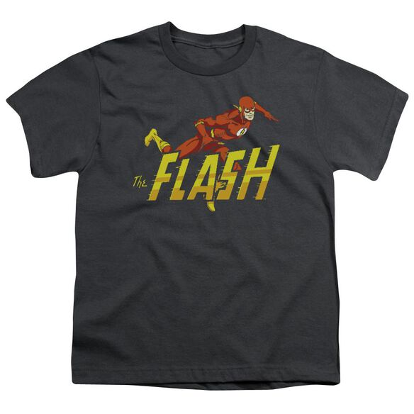 Dc 8 Bit Flash Short Sleeve Youth T-Shirt
