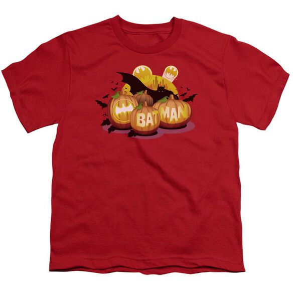 Batman Bat O Lanterns Short Sleeve Youth T-Shirt
