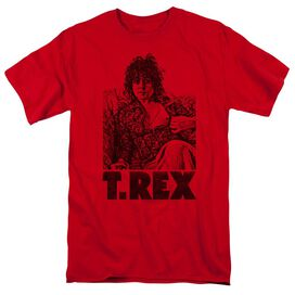 T Rex Lounging Short Sleeve Adult T-Shirt