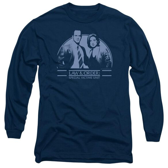 Law And Order Svu Elliot And Olivia Long Sleeve Adult T-Shirt