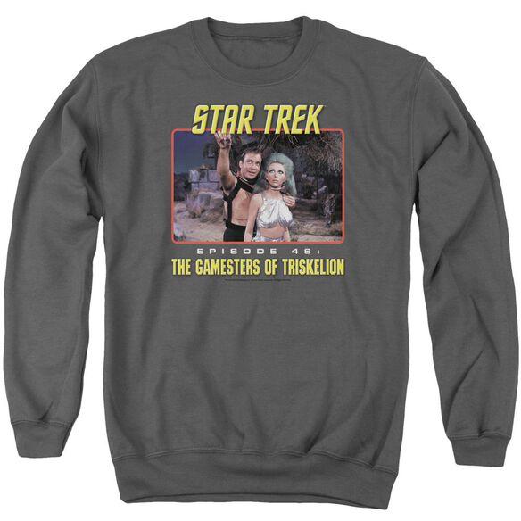 Star Trek Episode 46 Adult Crewneck Sweatshirt