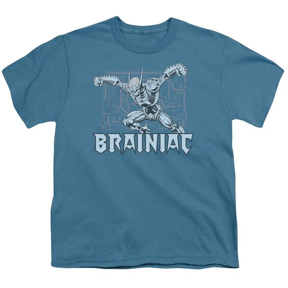 Dc Brainiac Short Sleeve Youth T-Shirt