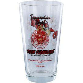 Looney Tunes Taz Cyclone Pint Glass