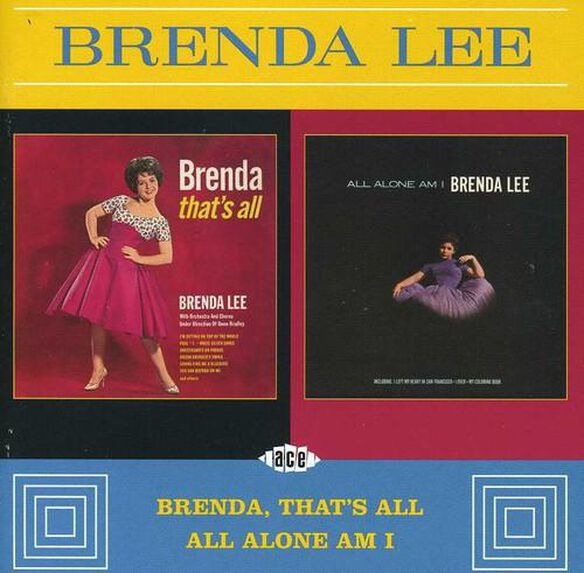 Brenda That's All / All Alone Am I (Uk)