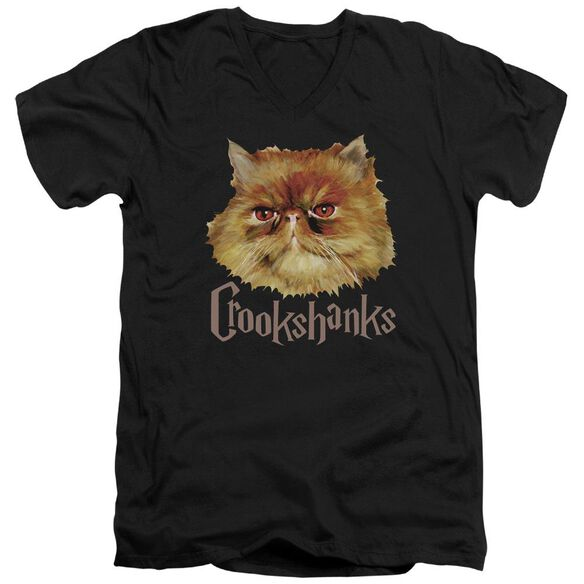 Harry Potter Crookshanks Color Short Sleeve Adult V Neck T-Shirt