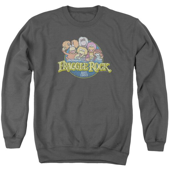 Fraggle Rock Circle Logo Adult Crewneck Sweatshirt