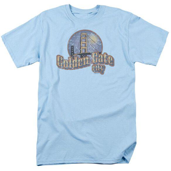 GOLDEN GATE CITY - ADULT 18/1 - LIGHT BLUE T-Shirt