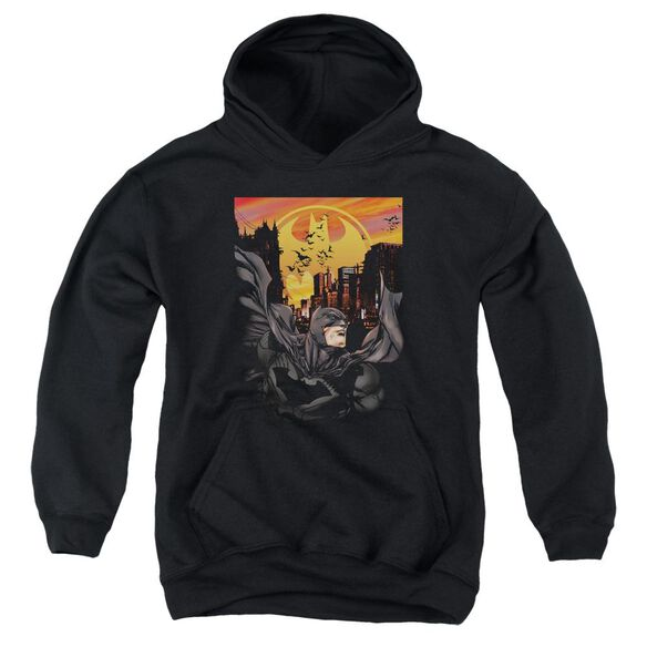 Batman Always On Call Youth Pull Over Hoodie