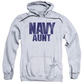 Navy Aunt Adult Pull Over Hoodie Athletic