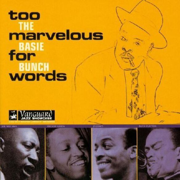 Count Basie - Too Marvelous for Words