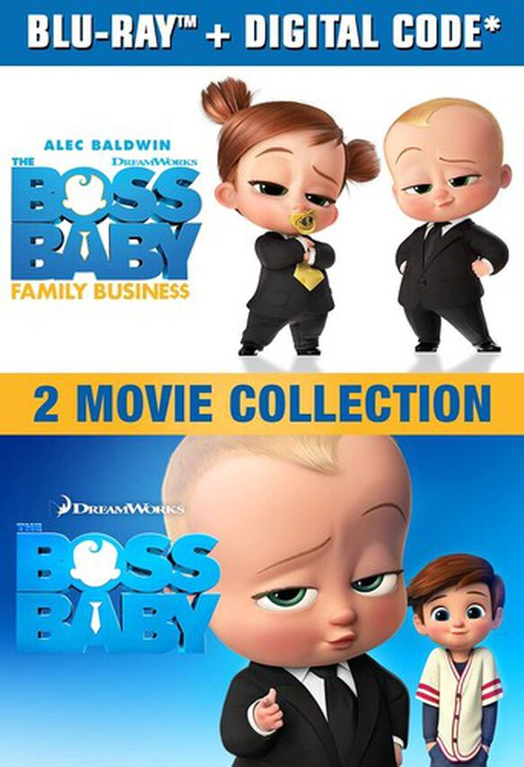The Boss Baby: 2-Movie Collection