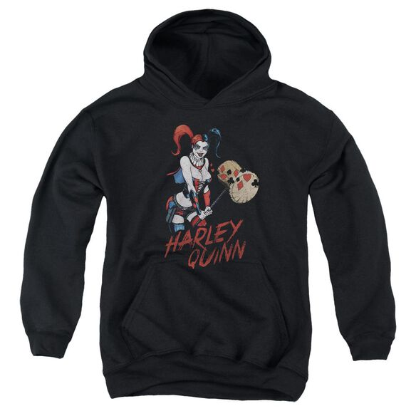 Jla Harley Hammer Youth Pull Over Hoodie