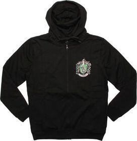 Harry Potter Slytherin Crest Zip Hoodie