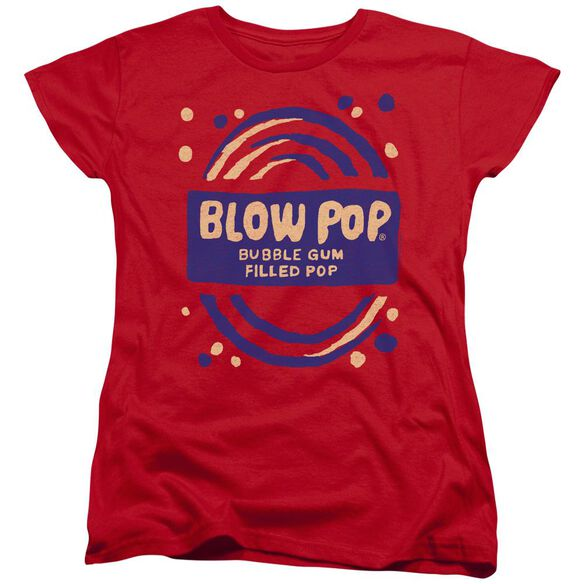 Tootsie Roll Blow Pop Rough Short Sleeve Womens Tee T-Shirt