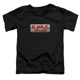 Gmc Beat Up 1959 Logo Short Sleeve Toddler Tee Black T-Shirt