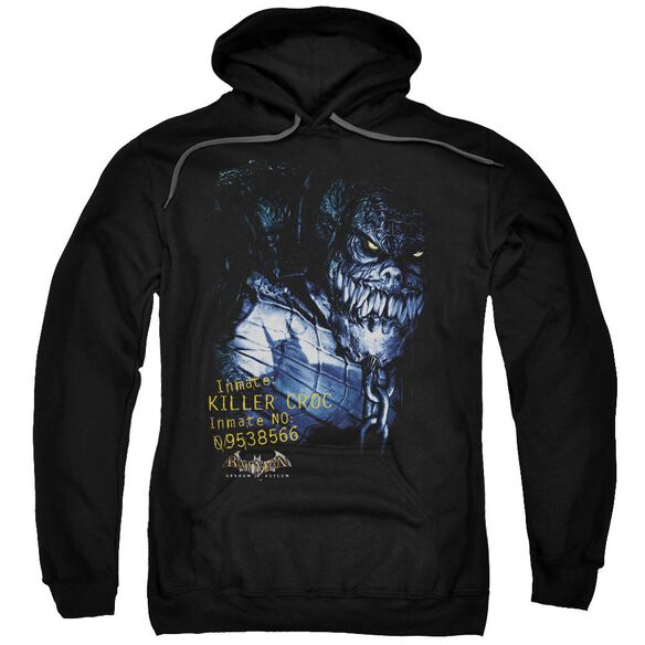 Batman Aa Arkham Killer Croc Adult Pull Over Hoodie