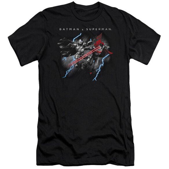 Batman V Superman Lightning Fight Short Sleeve Adult T-Shirt