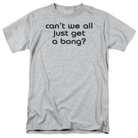 Get A Bong Short Sleeve Adult Athletic T-Shirt