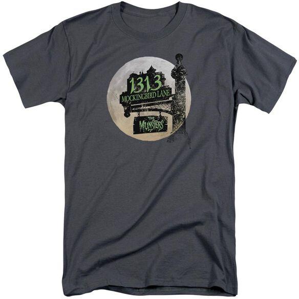 The Munsters Moonlit Address Short Sleeve Adult Tall T-Shirt