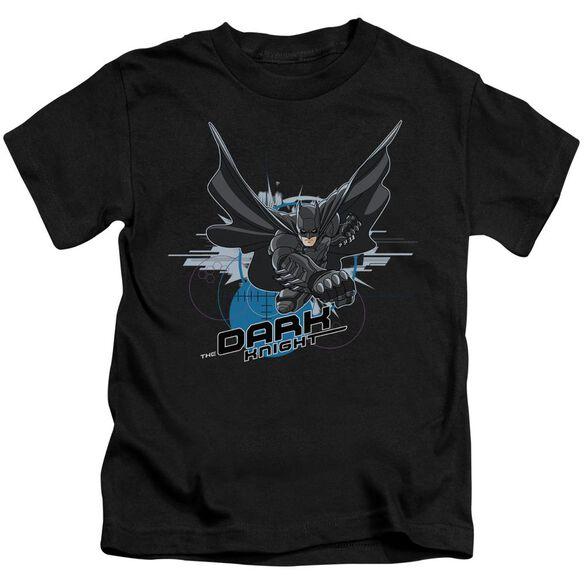 Dark Knight Target Punch Short Sleeve Juvenile T-Shirt