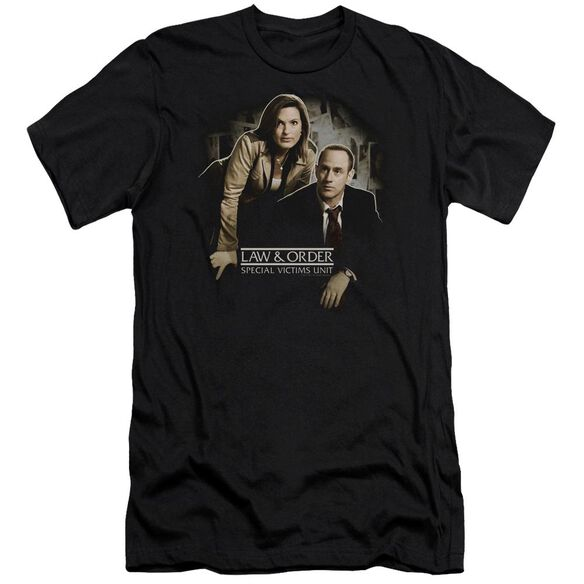 Law And Order Svu Helping Victims Premuim Canvas Adult Slim Fit