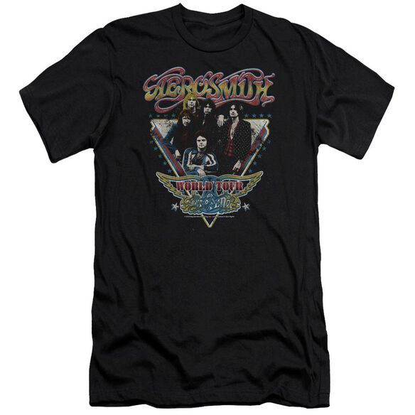 Aerosmith Triangle Stars Premuim Canvas Adult Slim Fit