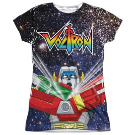Voltron Space Defender Short Sleeve Junior Poly Crew T-Shirt