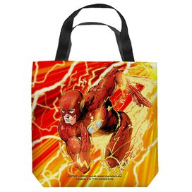 Jla Lightning Dash Tote Bag