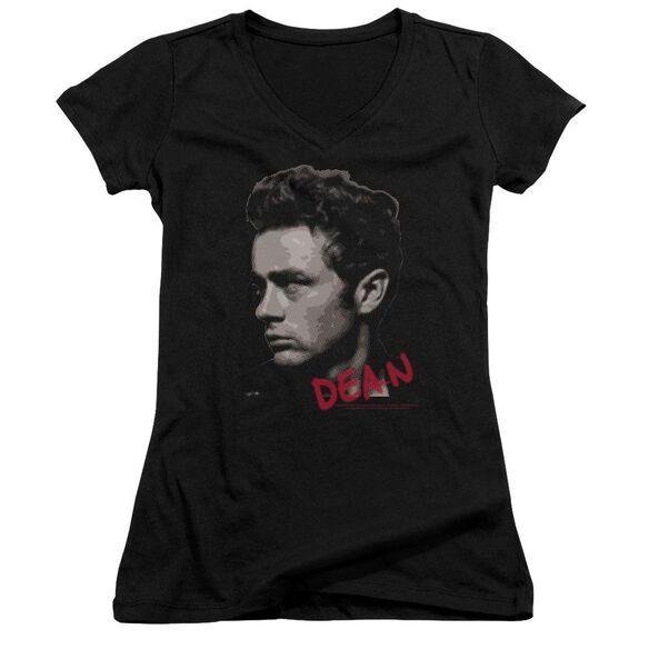 Dean Large Halftones Junior V Neck T-Shirt