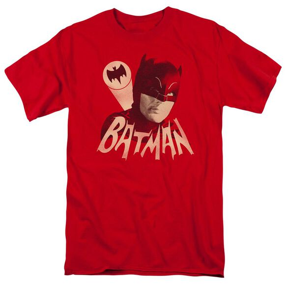 Batman Classic Tv Bat Signal Short Sleeve Adult T-Shirt