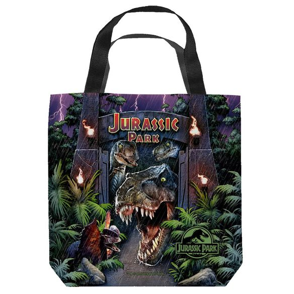 Jurassic Park Welcome To The Park Tote