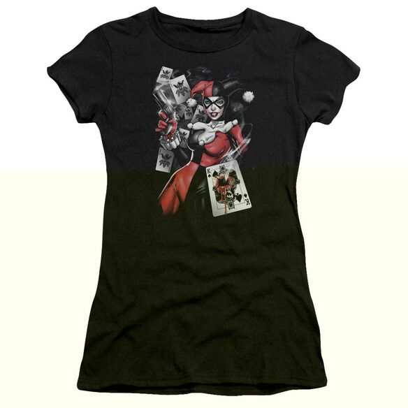 BATMAN SMOKING GUN - S/S JUNIOR SHEER - BLACK T-Shirt