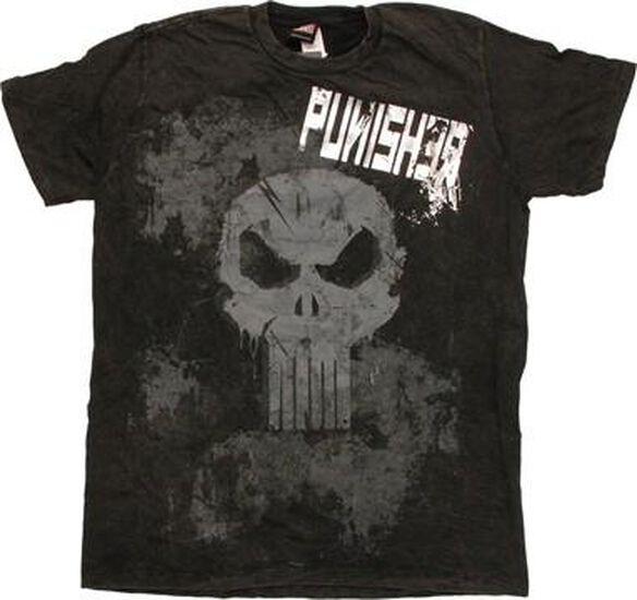 Punisher Mineral T-Shirt Sheer