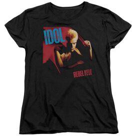 Billy Idol Rebel Yell Short Sleeve Womens Tee T-Shirt