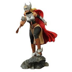 Diamond Select Toys: Marvel Gallery Lady Thor Statue Comics Goddess