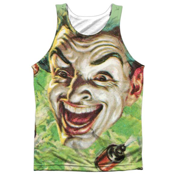 Batman Classic Tv Laugh Gas Adult 100% Poly Tank Top