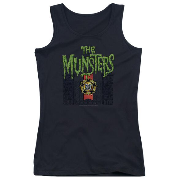 The Munsters 50 Year Logo Juniors Tank Top