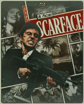 Scarface (1983) [Limited Edition Blu-ray Steelbook]