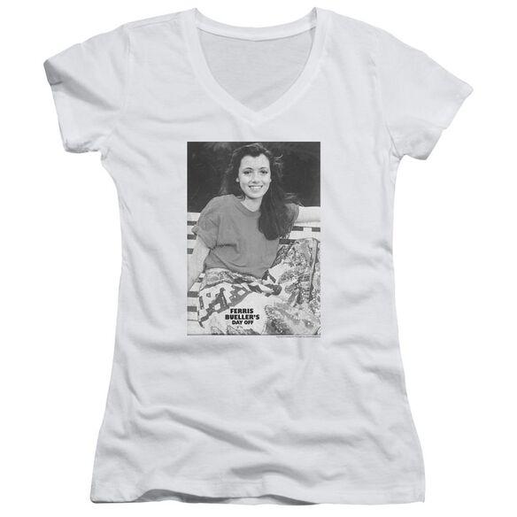 Ferris Bueller Sloane Junior V Neck T-Shirt