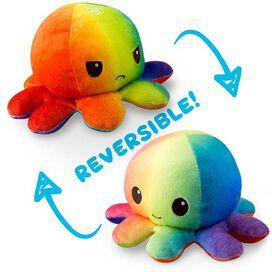 Reversible OCTOPUS MINI Plush (Double Rainbow)