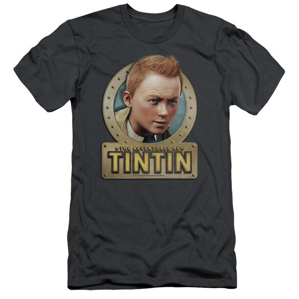 Tintin Metal Short Sleeve Adult T-Shirt