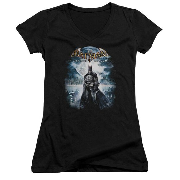 Batman Aa Game Cover Junior V Neck T-Shirt